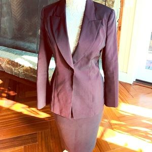 Vintage Express 90s blazer and skirt suit